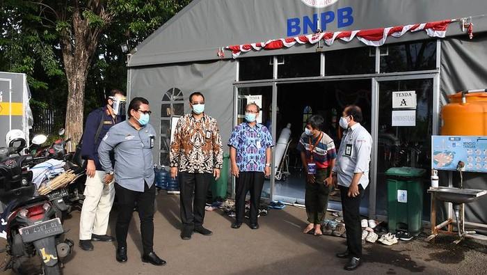 Kunjungan tim Kemenkes ke Surabaya