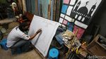 Menengok Aktivitas Para Seniman Batik di Laweyan
