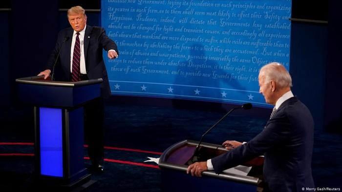 Panasnya Debat Perdana Capres AS: dari Apa Kabar sampai Bisa Diam Tidak?