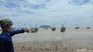 Kata Warga Soal Air Laut Surut di Pantai Jepara: Sudah Biasa Terjadi