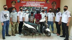 Berkomplot Curi Motor, Pelajar dan Kuli Bangunan di Palopo Ditangkap