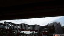 Potret Terkini Pembangunan Halte Baru Trasjakarta Senen