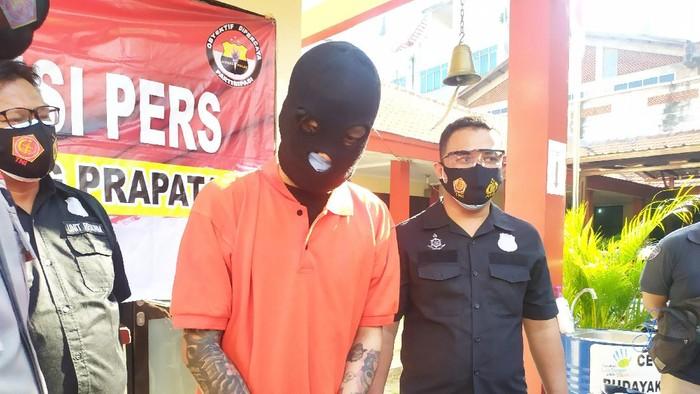 Polisi tangkap pencuri kotak amal yang viral di medsos