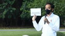 Dicurhati Pedagang yang Usahanya Bangkrut, Jokowi: Buka Lagi!
