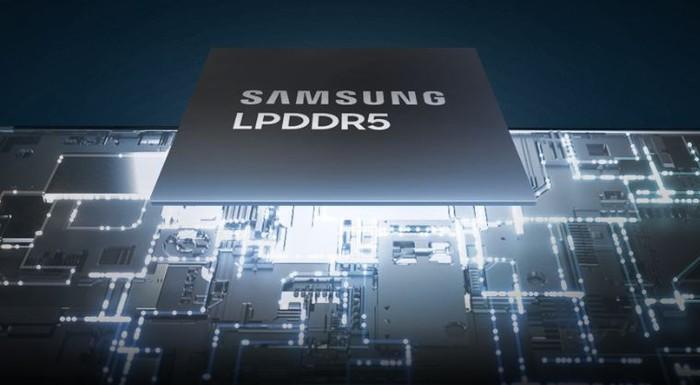 RAM LPDDR5 Samsung