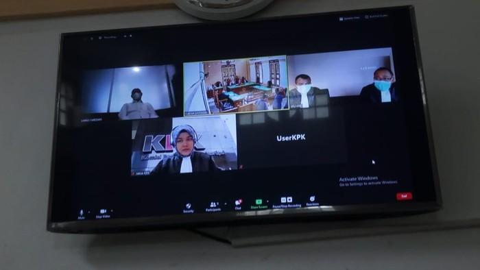 Sidang PK Dzulmi Eldin (Datuk Haris-detikcom)