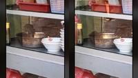 Hiii! Netizen Ini Pergoki Dua Ekor Tikus Asyik Makan di Etalase Warung