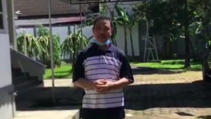 Wakil Gubernur Kalimantan Barat Ria Norsan mengumumkan terkonfirmasi positif COVID-19.