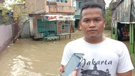 Diguyur Hujan Semalaman, Permukiman di Medan Maimun Terendam Banjir