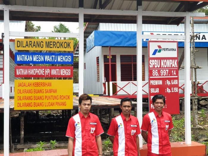 BBM Satu Harga di Kabupaten Asmat-Papua
