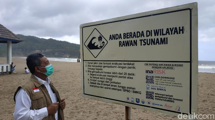 Potensi Tsunami 28 Meter di Pacitan, BMKG Himbau Pemda Siapkan Skenario 'Terburuk'