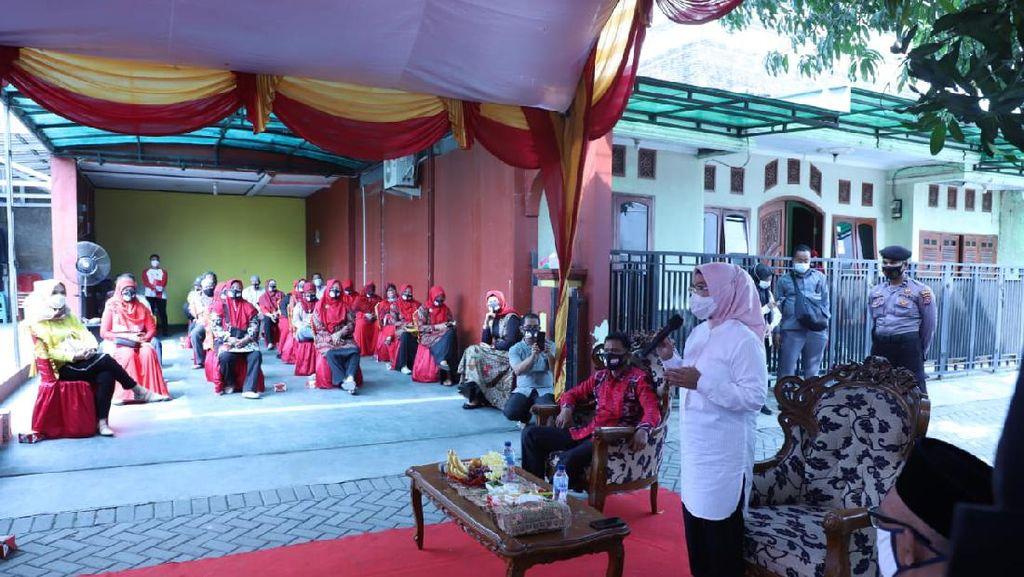 Pakai Protokol Kesehatan, Ratu Tatu Kampanye soal Kinerja