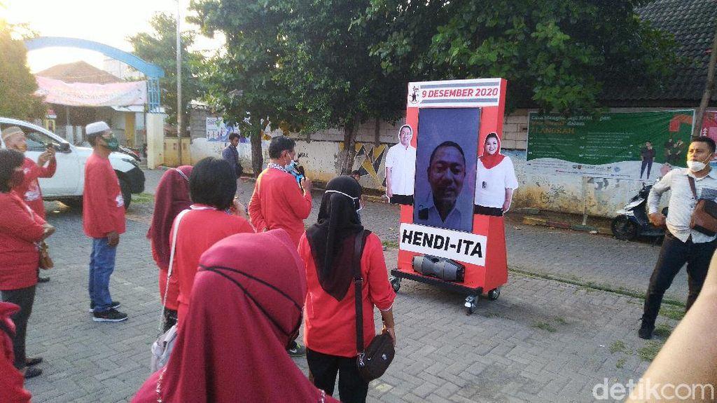 Cawalkot Petahana Semarang Mulai Kampanye dengan Blusukan Virtual
