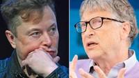Celaan dan Pujian Bill Gates untuk Elon Musk