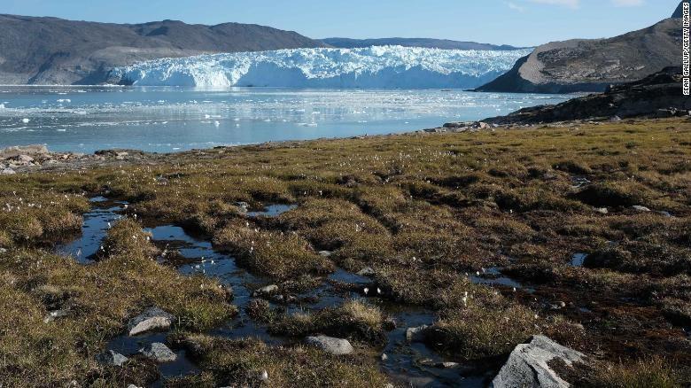 Gletser Greenland