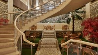 Di hotel-hotel Korea Utara yang dikunjungi Nicole Reed, orang-orang telah diberi izin untuk merancang ruang makan, lobi, dan ruang karaoke dengan gaya yang unik dan menarik.