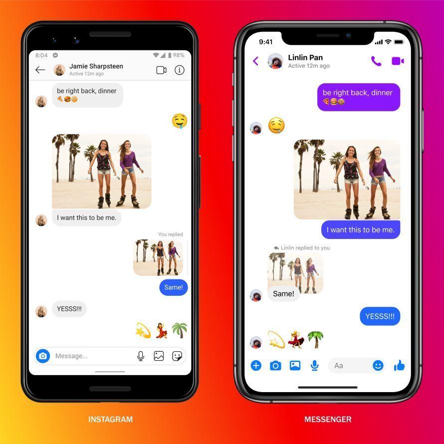 Instagram dan Messenger