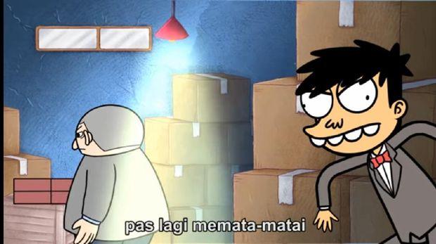 Ilustrasi animasi buatan Indonesia, Si Juki.