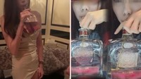 Jago Minum Whiskey Pakai Sedotan Wanita Ini Diberi Tip Rp 41 Juta
