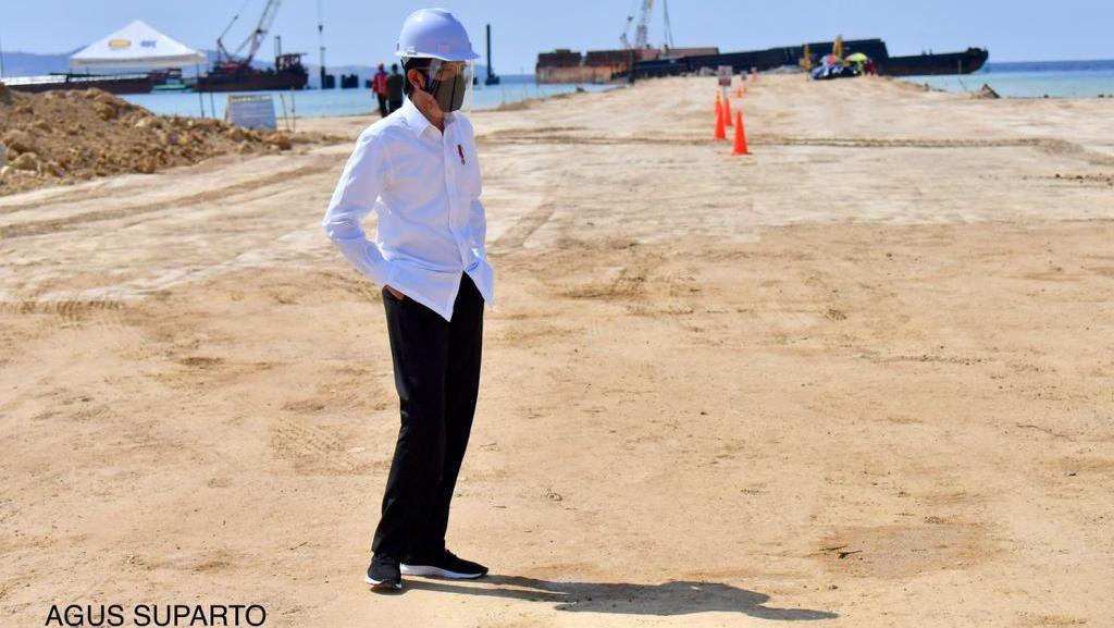Jokowi Tinjau Progres Wisata Premium Labuan Bajo, Apa Hasilnya?