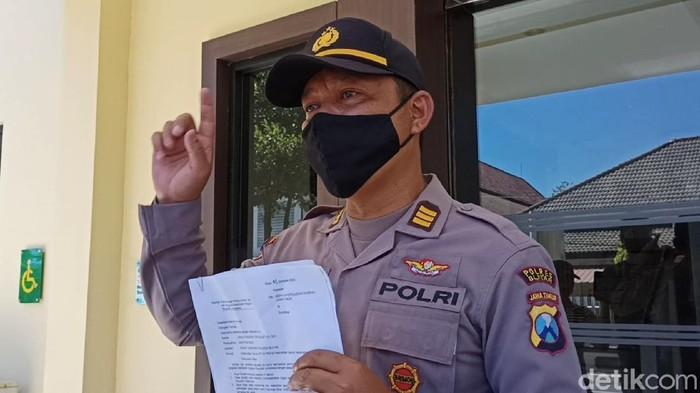 Kasat Sabhara Polres Blitar AKP Agus Hendro Tri Susetyo
