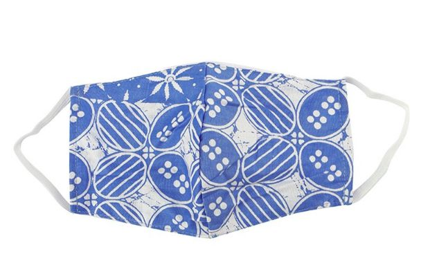 masker kain batik