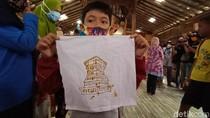 Melihat Keseruan Anak Berkebutuhan Khusus Belajar Membatik di Kudus