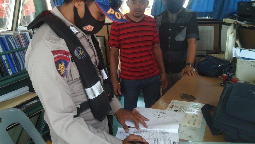 Nahkoda Bersertifikat Palsu Ditangkap di Perairan Patimban Subang