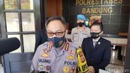 Selama Pandemi, Polisi Sebar Ratusan Ribu Masker ke Warga Bandung