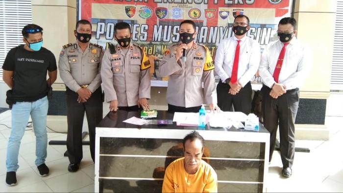 Polisi tangkap kurir sabu di Sumsel (dok. Istimewa)