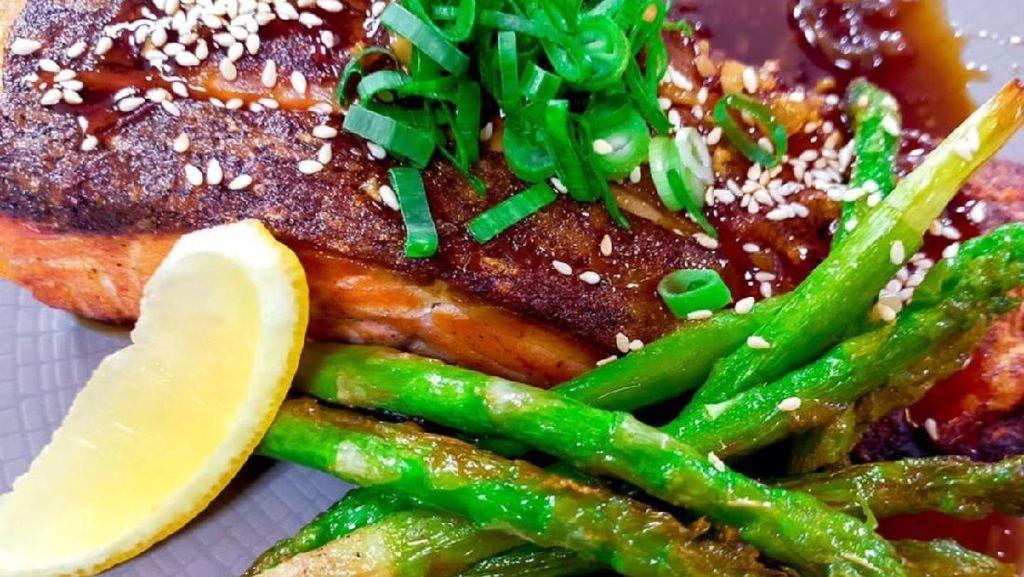Masak Masak : Salmon Teriyaki ala Restoran