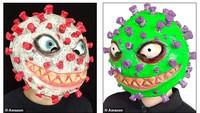 Topeng Virus Corona Dijual untuk Halloween dan Diprotes