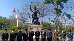 Upacara di Monumen Kresek, Kenang Pejuang Gugur pada Masa PKI 1948