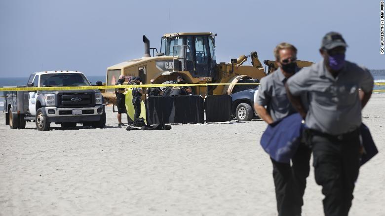 wanita meninggal dunia di pantai