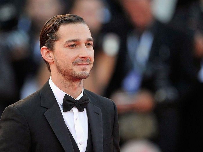 VENICE, ITALY - SEPTEMBER 06:  Actor Shia LaBeouf attends The Company You Keep Premiere at the 69th Venice Film Festival at the Palazzo del Cinema on September 6, 2012 in Venice, Italy.  (Photo by Gareth Cattermole/Getty Images)