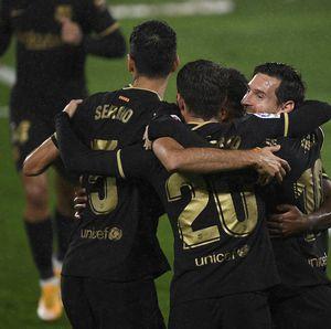 Celta Vigo Vs Barcelona: 10 Pemain Blaugrana Menangkan Laga 3-0