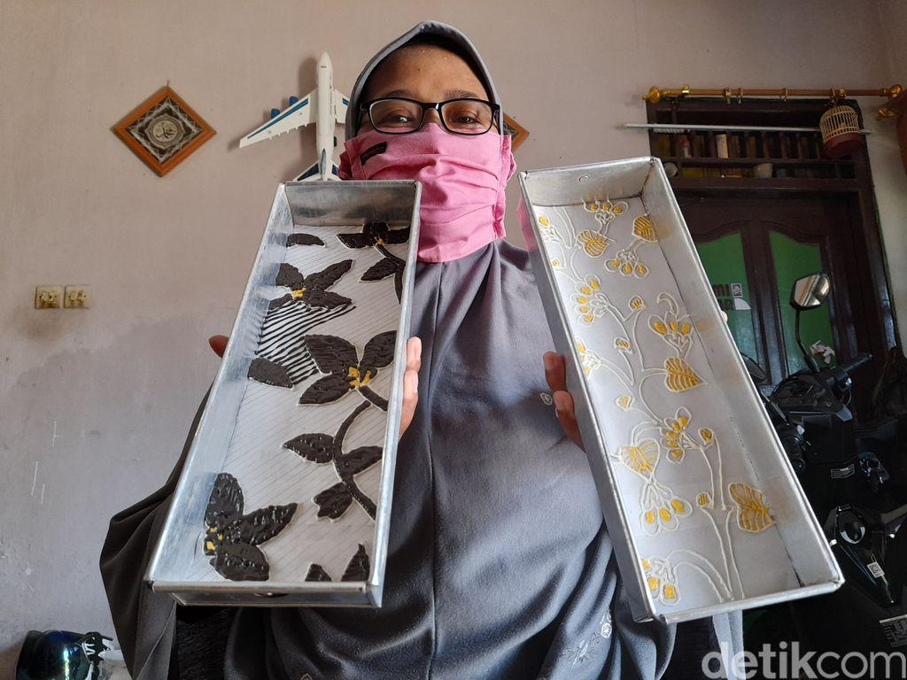 Bolu Batik yang Cantik di Brebes