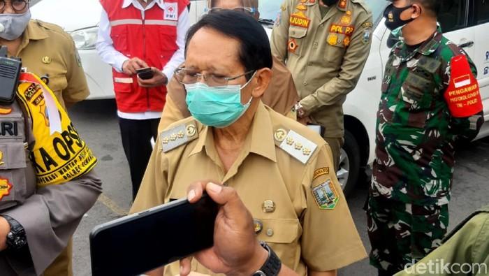 Bupati Semarang Mundjirin, Jumat (2/10/2020).