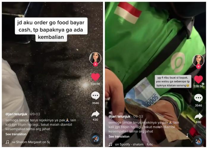 Cerita Netizen Diberi Jaminan HP oleh Ojol Gegara Uang Kembalian