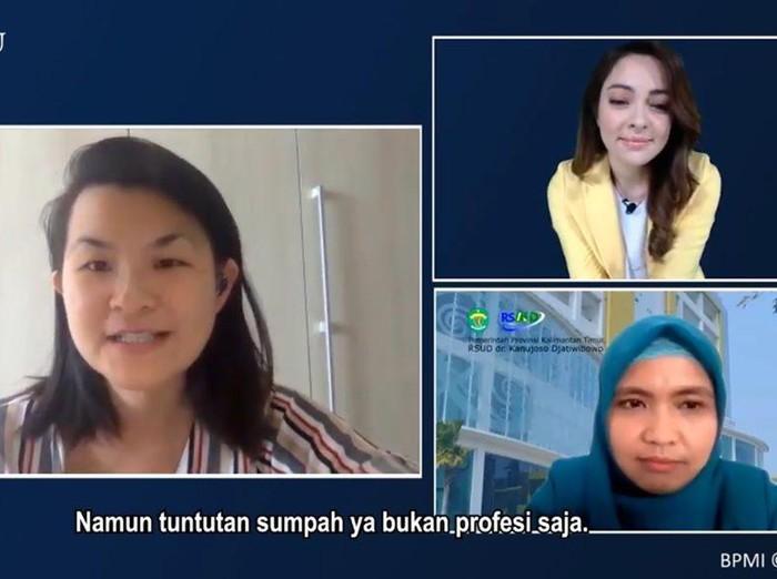 Dialog dr Reisa dengan tenaga medis yang menangani COVID-19.