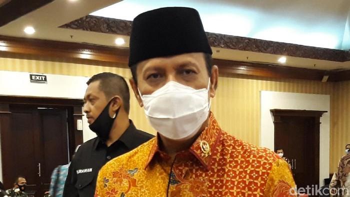 Kepala Badan Nasional Penanggulangan Terorisme (BNPT) Komjen Boy Rafli Amar di Solo, Jumat (2/10/2020).
