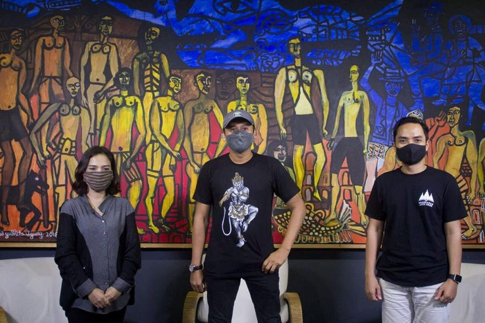 Konferensi pers Prambanan Jazz