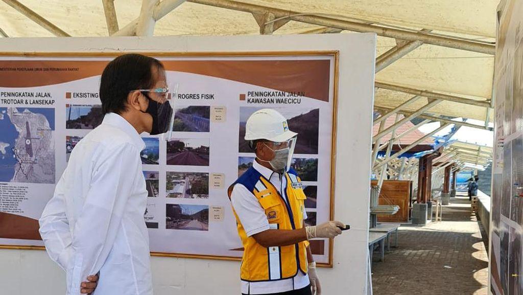 Dikunjungi Jokowi, Brantas Abipraya Lapor Progres Proyek di Labuan Bajo Ini