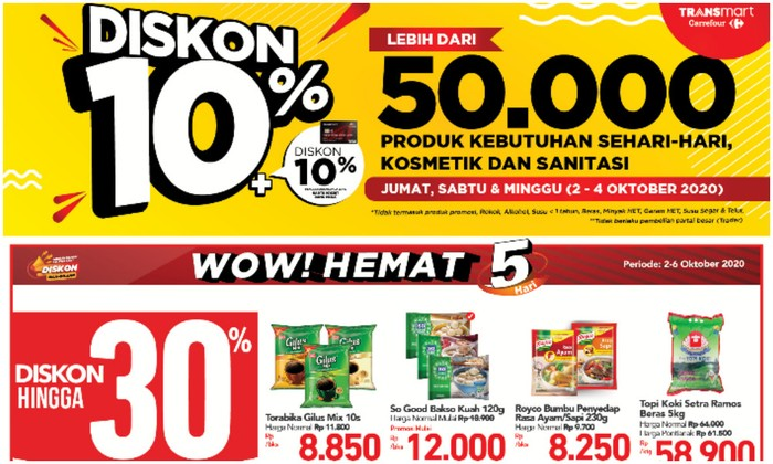 Promo Transmart Carrefour