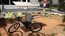 Keren! Mahasiswa Unpad Rakit Sepeda Listrik Tenaga Surya