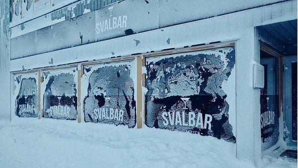 Svalbar kini tengah menanti pembeli baru yang sanggup mengelola bar tersebut. Bar ini dijual seharga 1 Juta Euro atau setara dengan Rp 17 Milar. (dok. Svalbar)