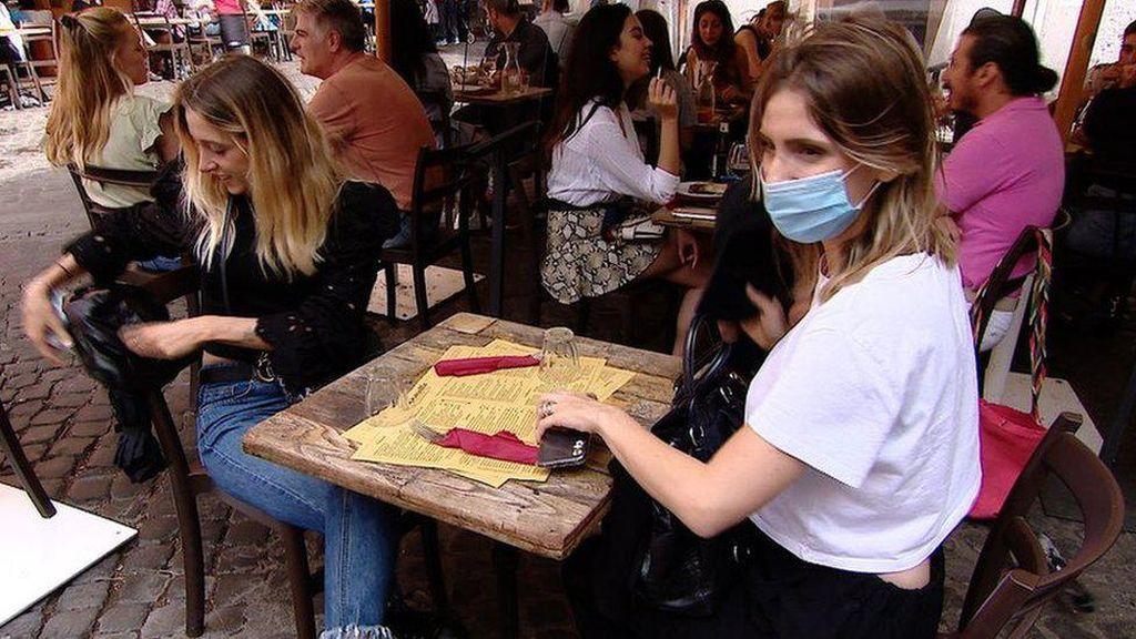 Denda Tak Gunakan Masker di Italia hingga 1.000 Euro
