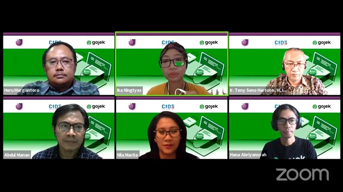 Gojek bersama Aliansi Jurnalis Independen (AJI) Indonesia menggelar diskusi daring bertajuk Bersama Menjaga dan Meningkatkan Kompetensi Keamanan Digital