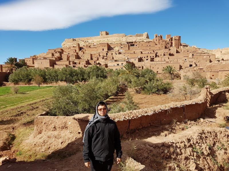 Ouarzazate merupakan salah satu destinasi top di Maroko berlokasi. Kota ini menjadi salah satu lokasi favorit syuting film-film Hollywood.