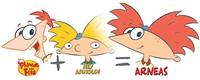 Karakter kartun hybrid